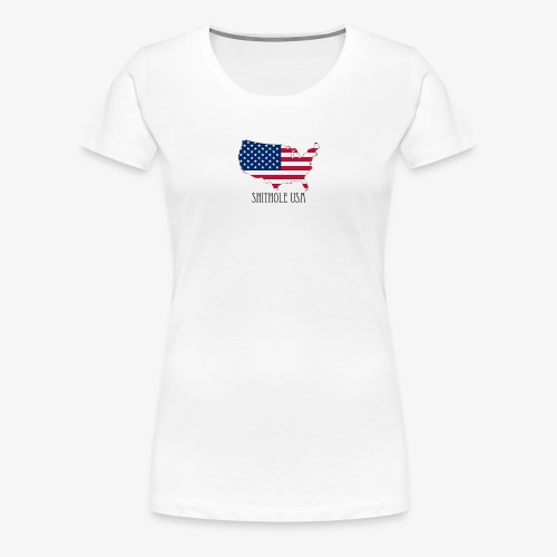 Shithole usa - Women's Premium T-Shirt