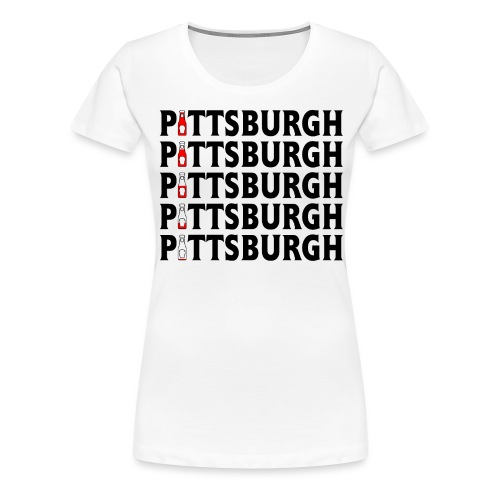 Pittsburgh (Ketchup) - Women's Premium T-Shirt