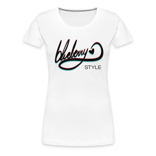 Blueberry Style - Women's Premium T-Shirt
