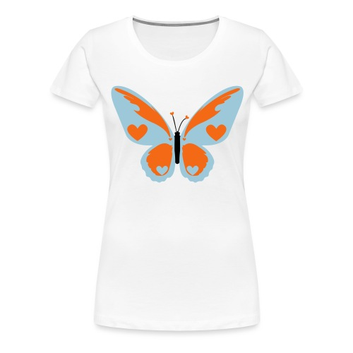 Butterfly with Love - Women's Premium T-Shirt