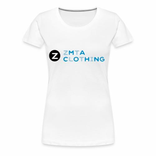 ZMTA logo products - Women's Premium T-Shirt