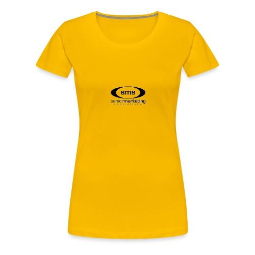 SMS Black Logo - Women's Premium T-Shirt