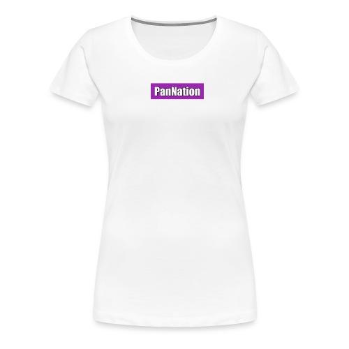 PanNation Box Logo - Women's Premium T-Shirt