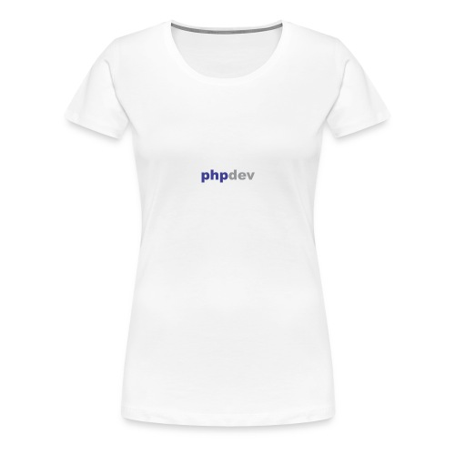 phpdev Products - Women's Premium T-Shirt