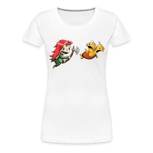 Double Unfine w o Text - Women's Premium T-Shirt