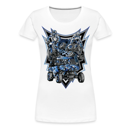 Extreme Life Style Blue - Women's Premium T-Shirt