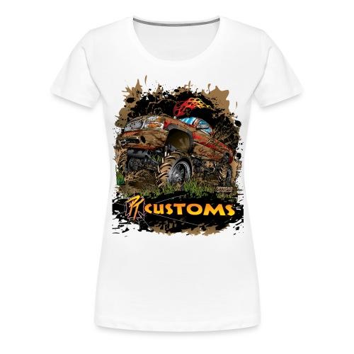 Mud Truck PT Customs - Women's Premium T-Shirt