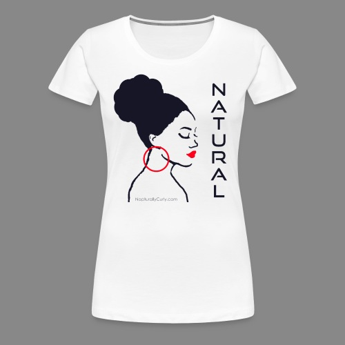 Natural Bun - Women's Premium T-Shirt