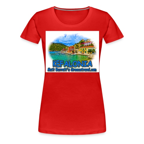 kefalonia1 jpg - Women's Premium T-Shirt