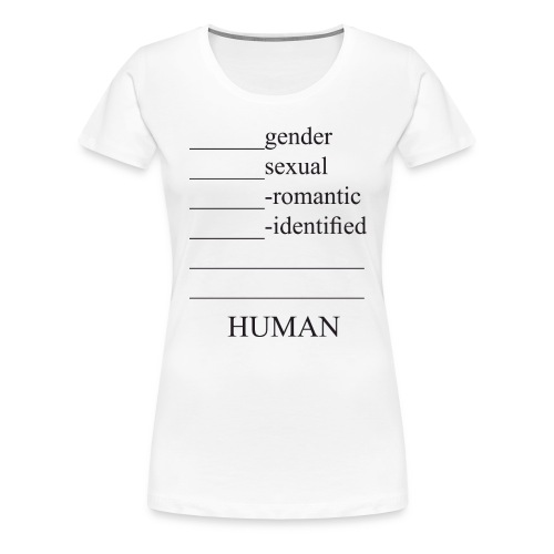 fill in the blank extended - Women's Premium T-Shirt