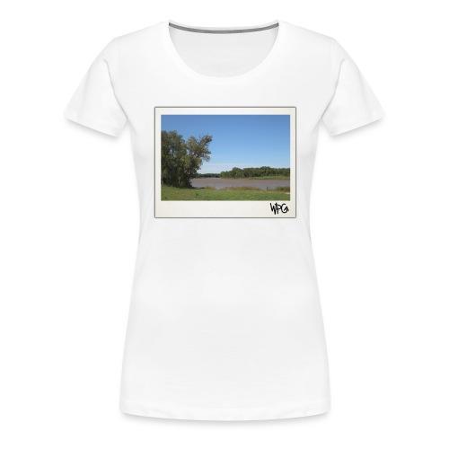Red - Winnipeg Collection - Women's Premium T-Shirt