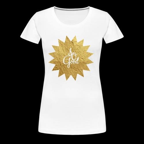 Sogood png - Women's Premium T-Shirt