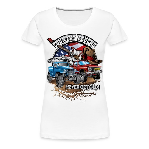 Country Off-Road Trucks - Women's Premium T-Shirt