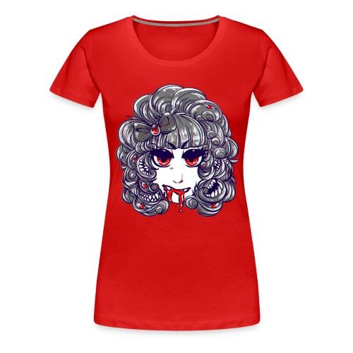 monstergirl shirt copy 1 png - Women's Premium T-Shirt