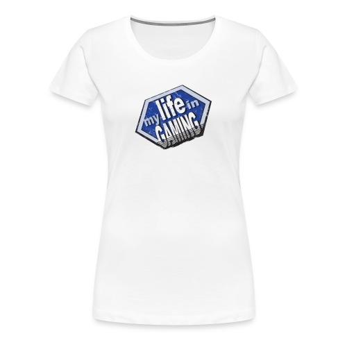 My Life In Gaming sticker - Women's Premium T-Shirt