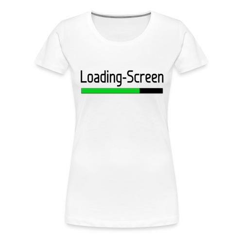 Loading Screen T Shirt png - Women's Premium T-Shirt