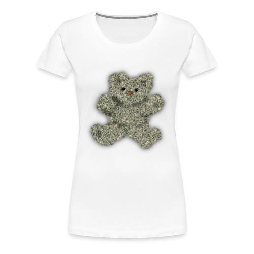 StarCat70s Teddy Bear2 png - Women's Premium T-Shirt