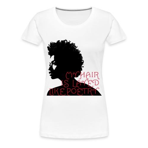 poetry01 - Women's Premium T-Shirt