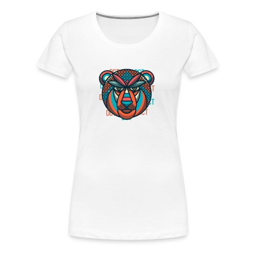 Design Lion Panda - Women's Premium T-Shirt