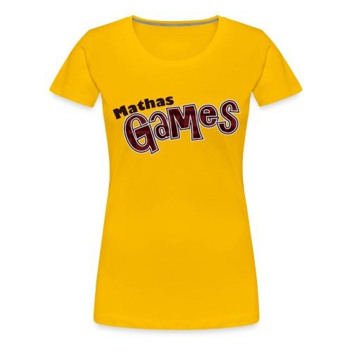 TShirt Textonly png - Women's Premium T-Shirt