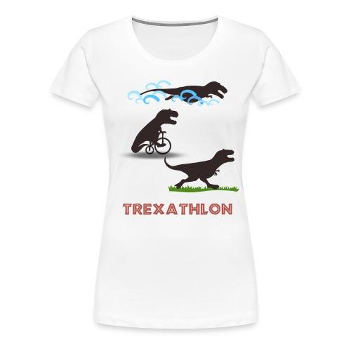 Trexathlon - Women's Premium T-Shirt