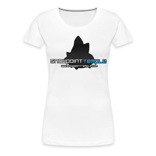 SPT Logo Large png - Women's Premium T-Shirt