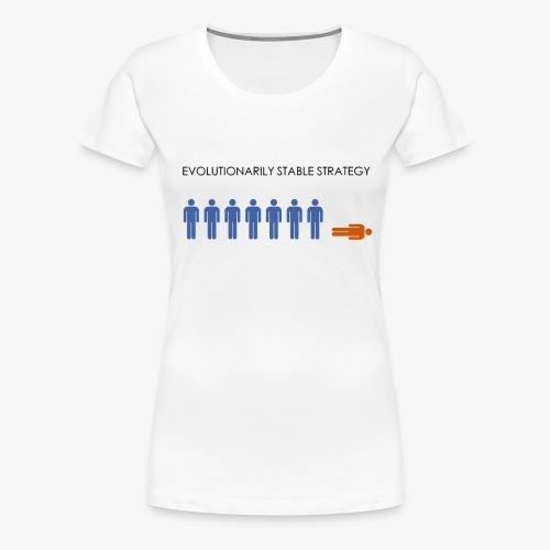 Minimalist design: ESS - Women's Premium T-Shirt