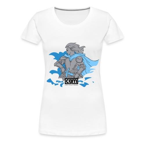 CGM Paladin of Light Women's Top - Women's Premium T-Shirt