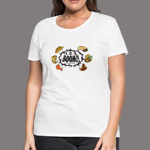 123_BOOM_FINAL Spreadshir - Women's Premium T-Shirt
