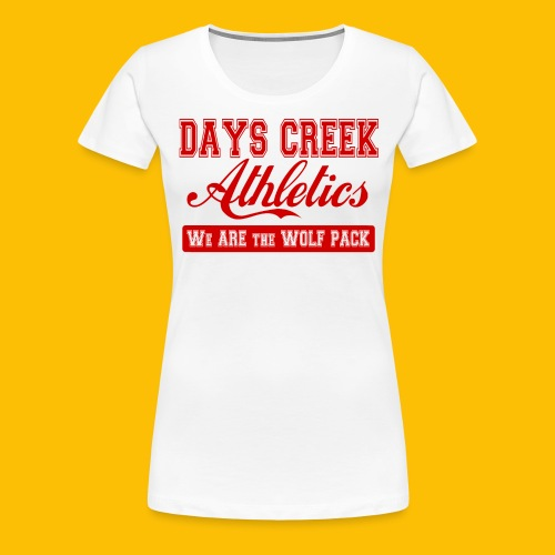 DC Athletics Red - Women's Premium T-Shirt