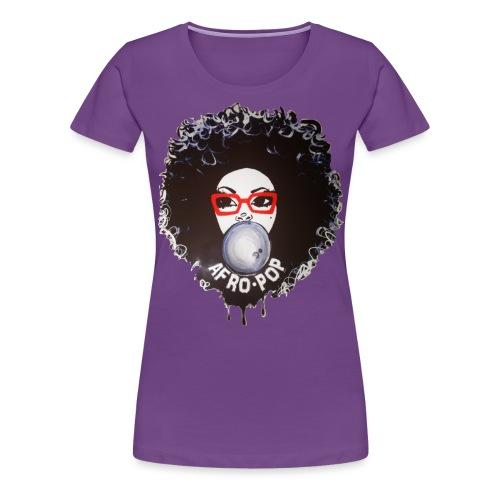 Afro pop_ - Women's Premium T-Shirt