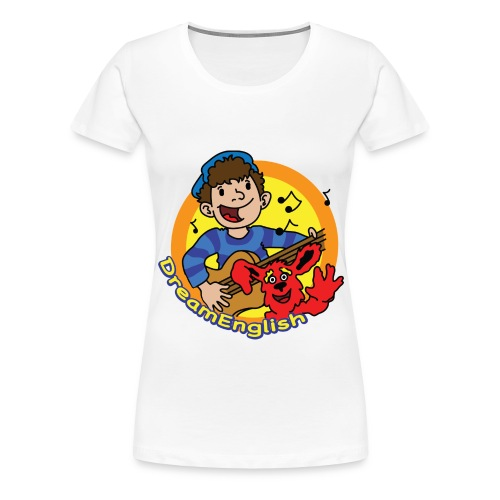 dreamenglishlogo-L - Women's Premium T-Shirt