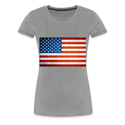 US - Women's Premium T-Shirt