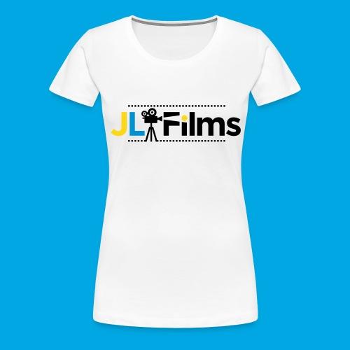 JL Films Logo Black - Women's Premium T-Shirt