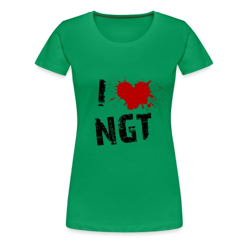 Womens Love NGT - Women's Premium T-Shirt