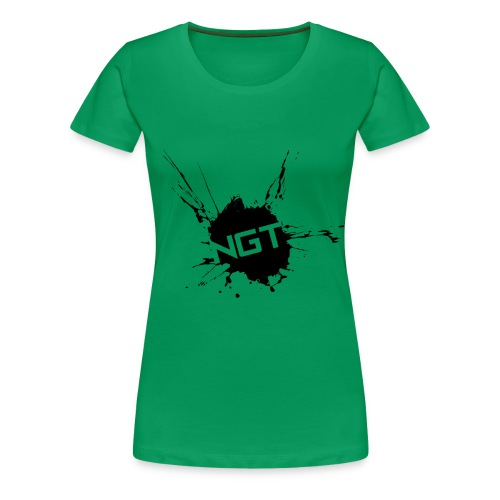 Womens Splatter - Women's Premium T-Shirt