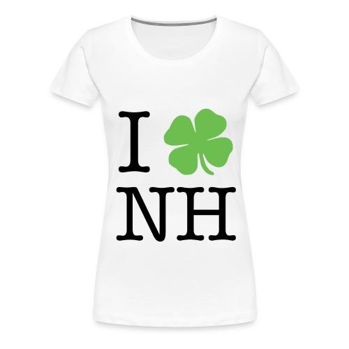 I Clover NH - Women's Premium T-Shirt
