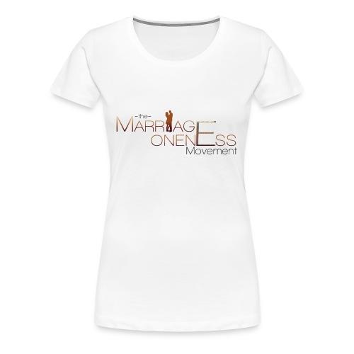 The Marriage Oneness Movement T-shirt - Women's Premium T-Shirt