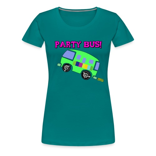 party bus - Women's Premium T-Shirt