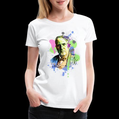 Edison's Inspiration - Women's Premium T-Shirt