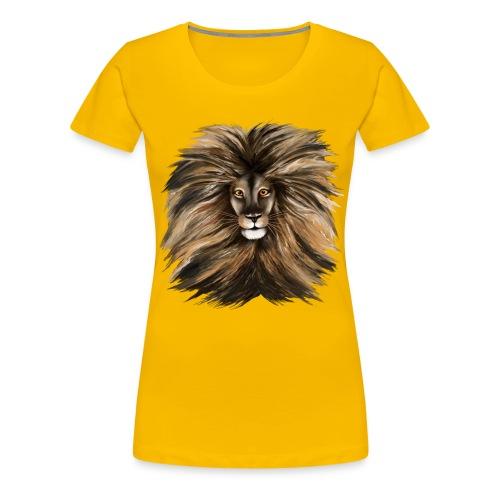 Big Cat - Women's Premium T-Shirt