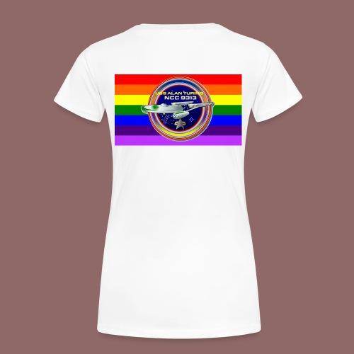 USS Alan Turing Cinch Bag - Women's Premium T-Shirt