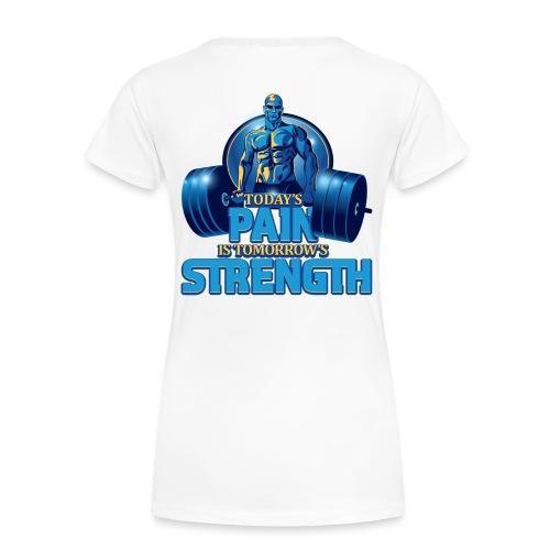 Heavy Lifting Man - Women's Premium T-Shirt