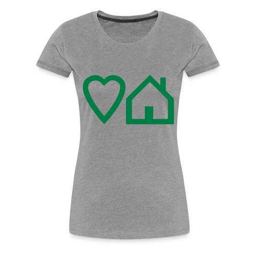 ts-3-love-house-music - Women's Premium T-Shirt