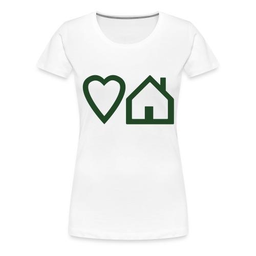 ts-3-love-house-music - Women's Premium T-Shirt