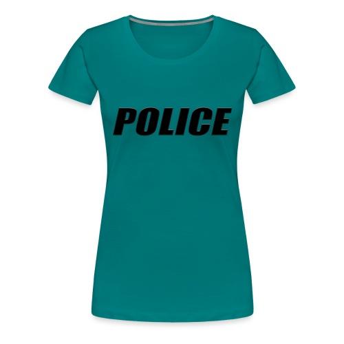 Police Black - Women's Premium T-Shirt