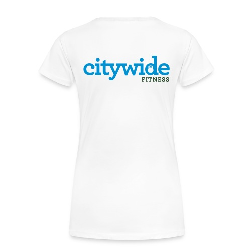 Citywide Logo text cmyk - Women's Premium T-Shirt