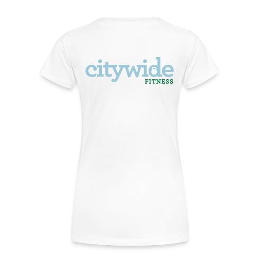 Citywide Logo text cmyk - Women's Premium T-Shirt