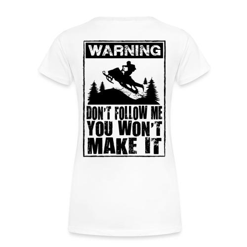 Snowmobiling Sign - Women's Premium T-Shirt
