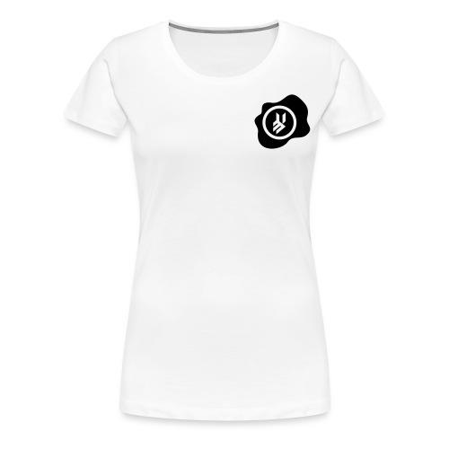 KFX50 Logo4 Milk blk - Women's Premium T-Shirt
